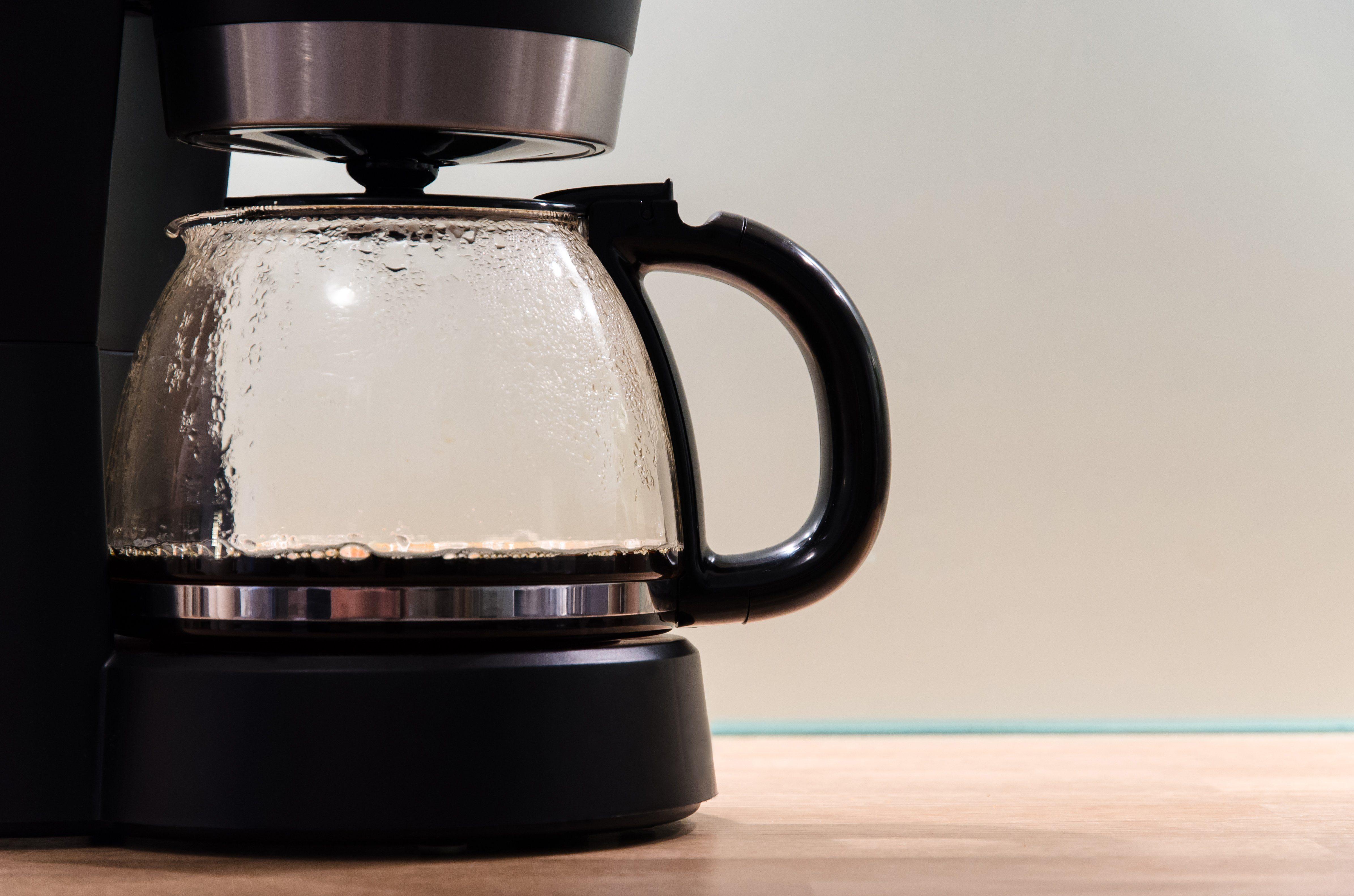 Close-up of coffeepot