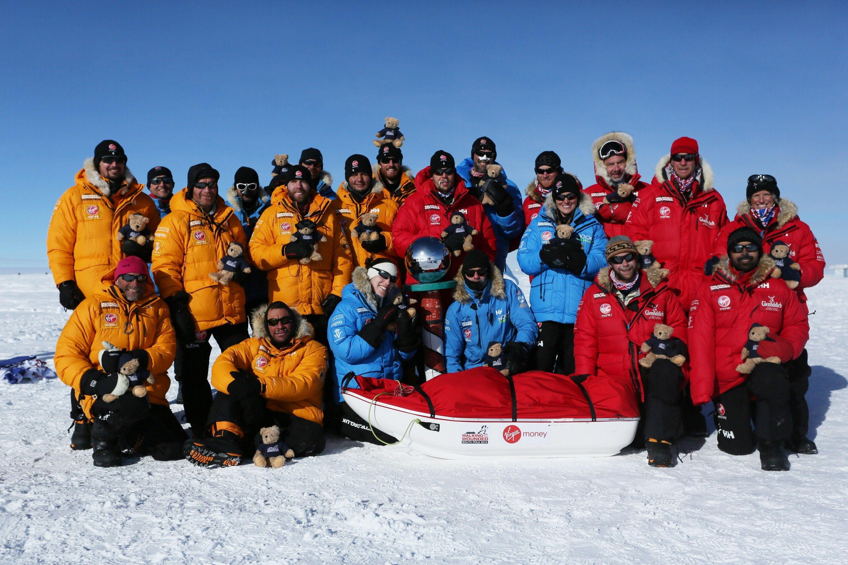 Friday the 13th Walking with the Wounded, Prince Harry South Pole