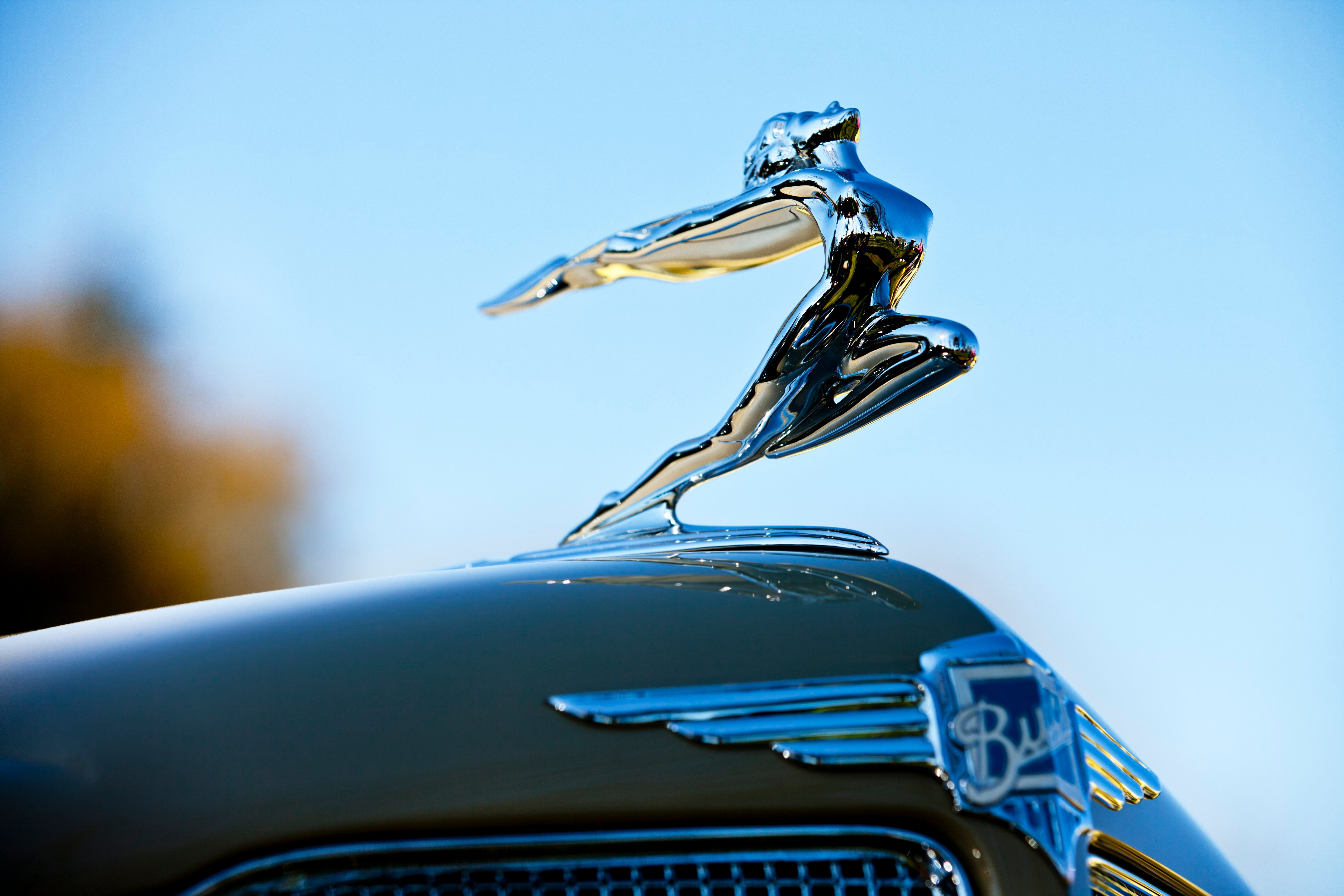hood ornament vintage car