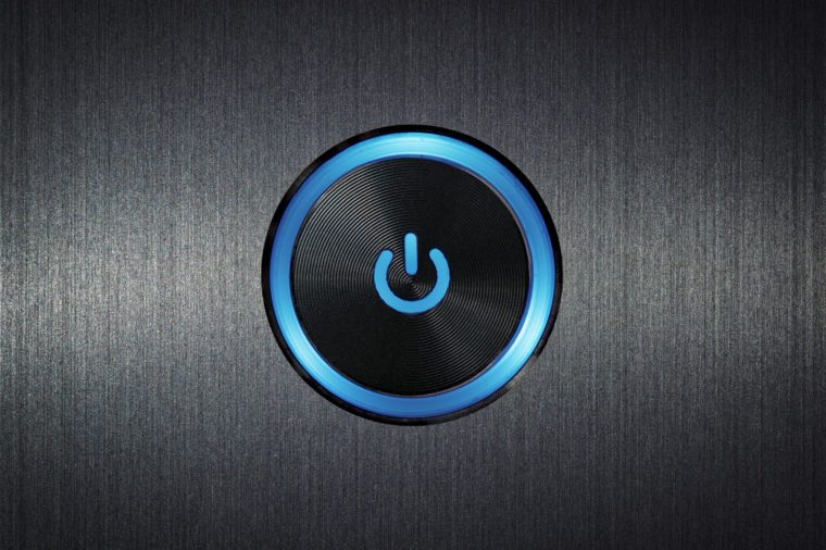 restart your device technoloy start button