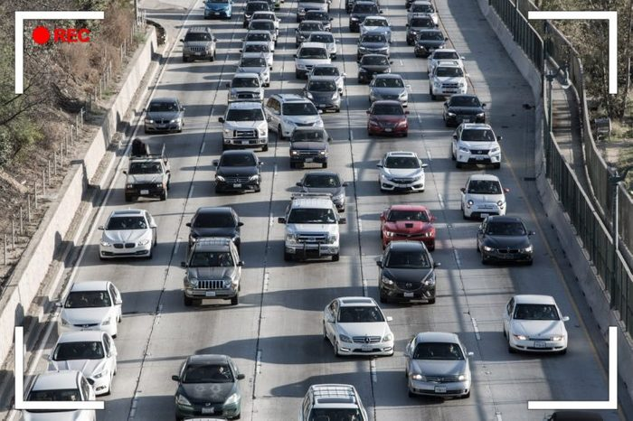 cars. highway traffic.