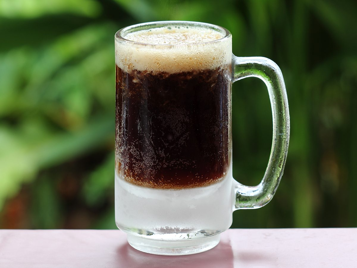 Best pi jokes - mug of root beer