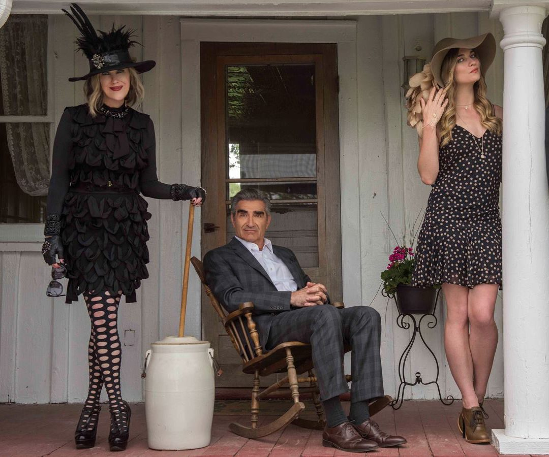 Best Schitt's Creek quotes - Moira, Johnny and Alexis