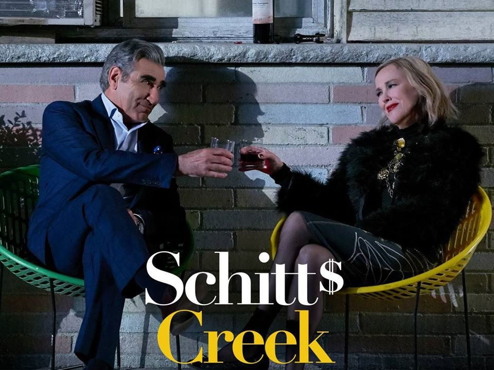 Funny Schitt's Creek quotes - Johnny and Moira Rose