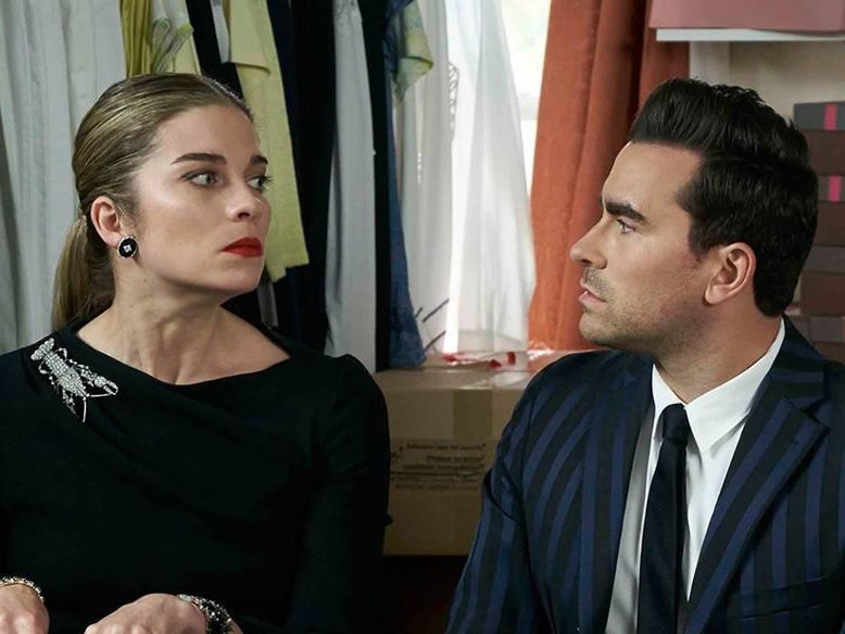 Funny Schitt's Creek quotes - Alexis and David