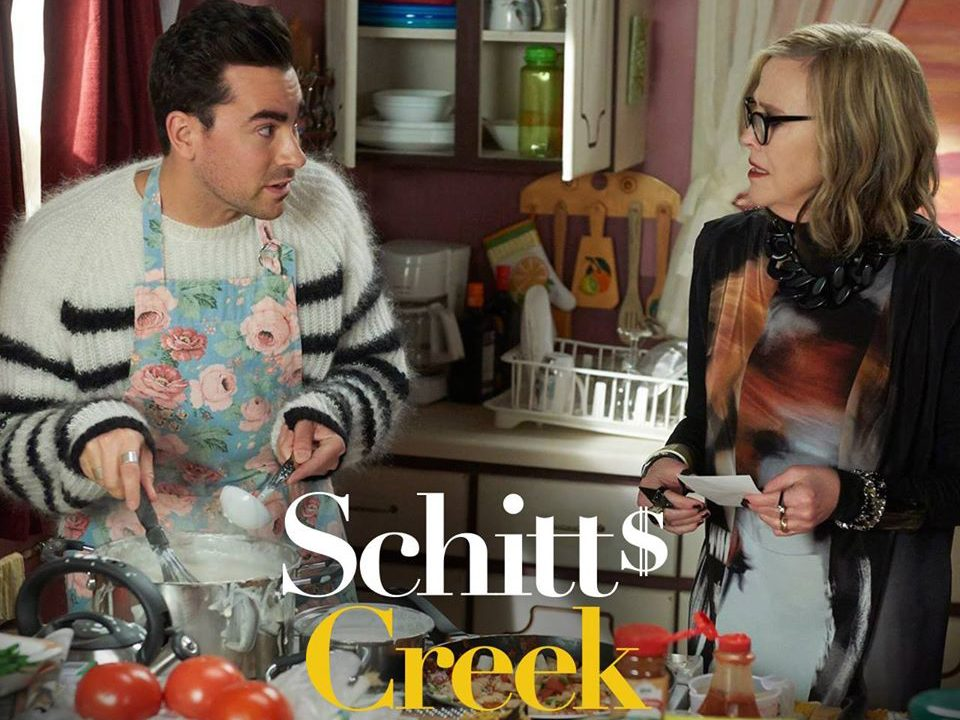 Funny Schitt's Creek quotes - David and Moira cooking