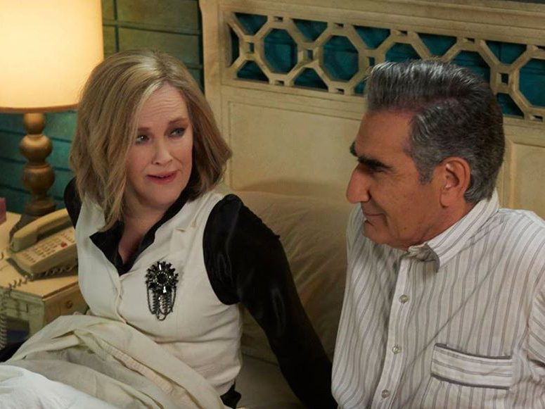 Funny Schitt's Creek quotes - Moira and Johnny