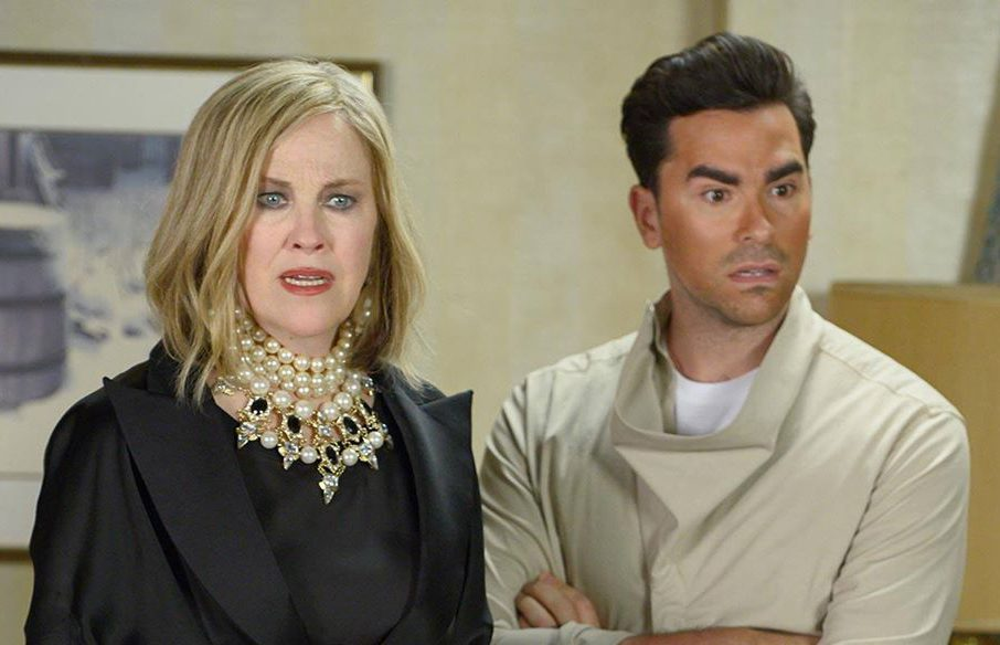 Funny Schitt's Creek quotes - Moira and David