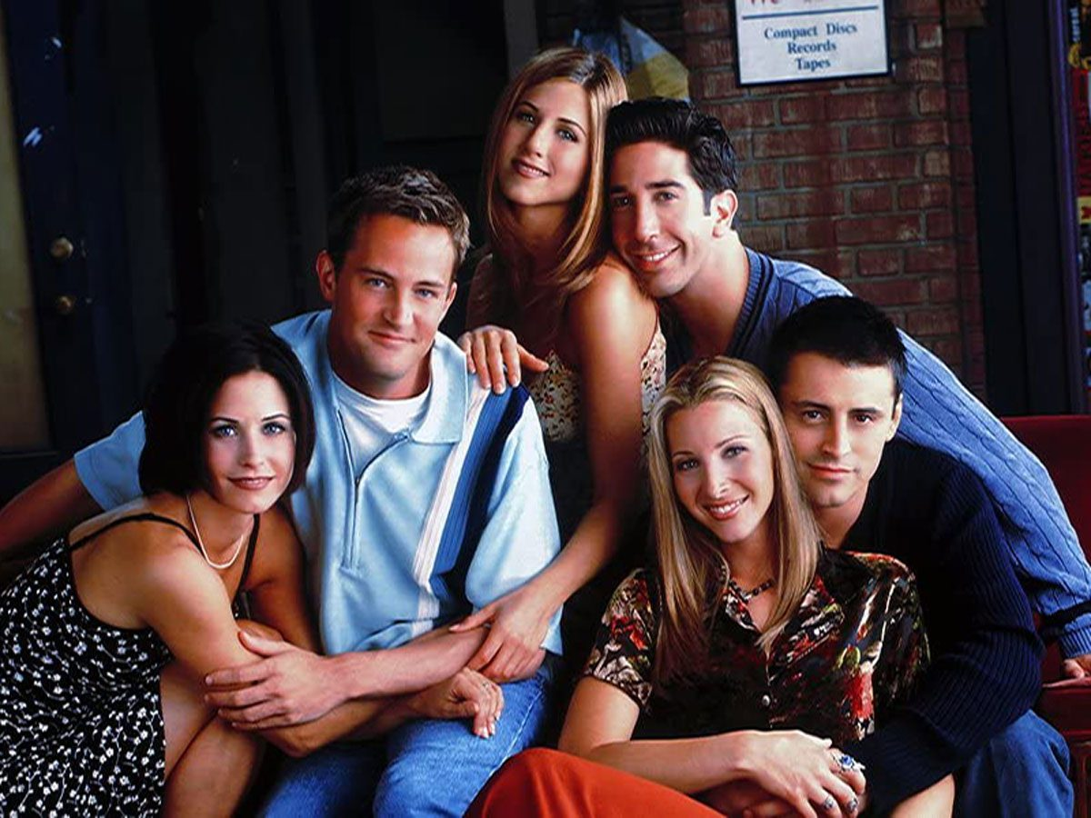 Cast of the TV show Friends