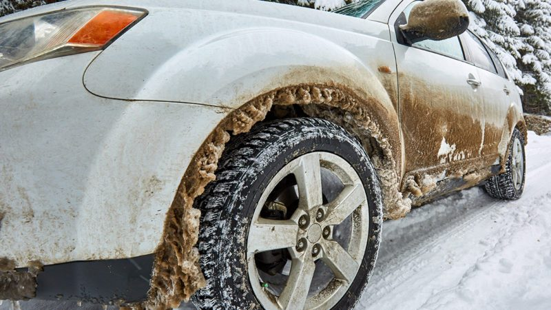 How often should you wash your car in winter