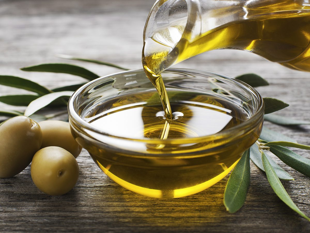 Olive oil for earwax removal