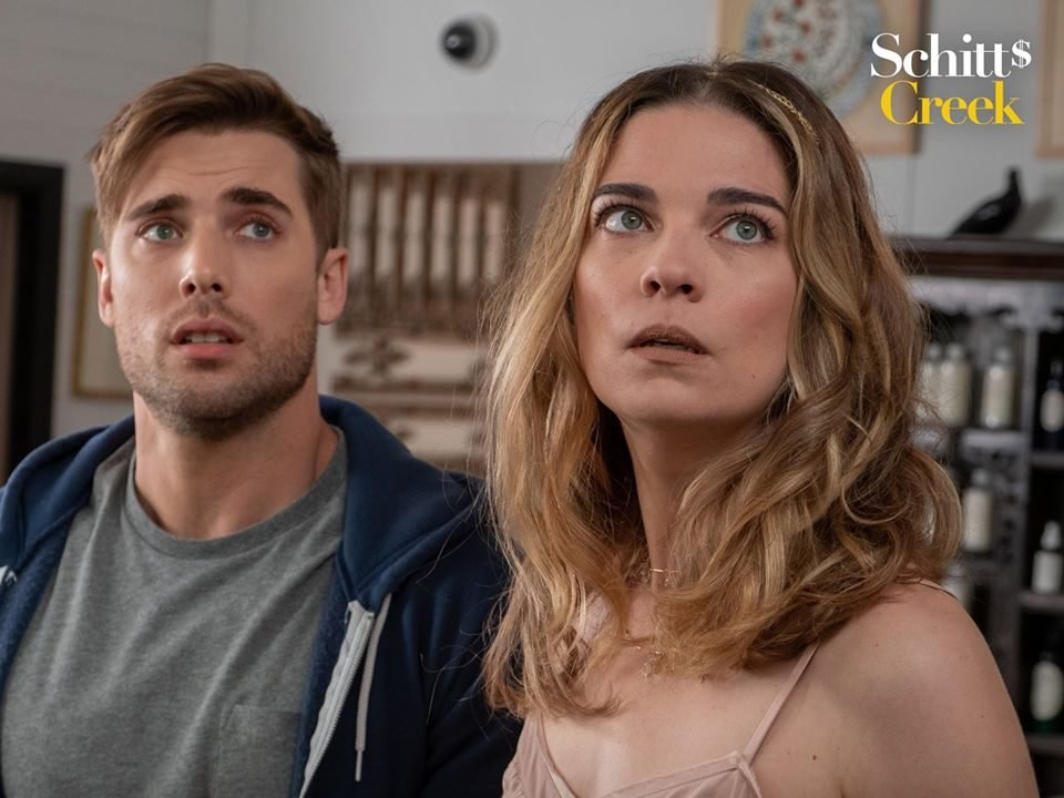 Funny Schitt's Creek quotes - Ted and Alexis
