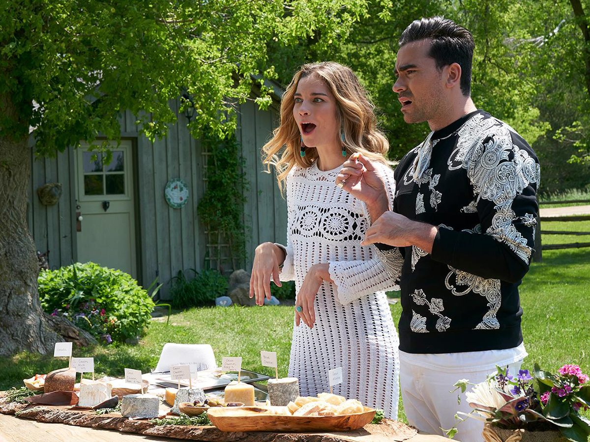 Funny Schitt's Creek quotes - David and Alexis
