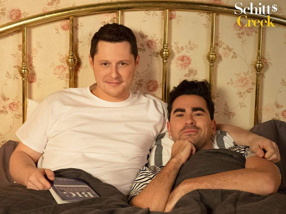 Funny Schitt's Creek quotes - David and Patrick