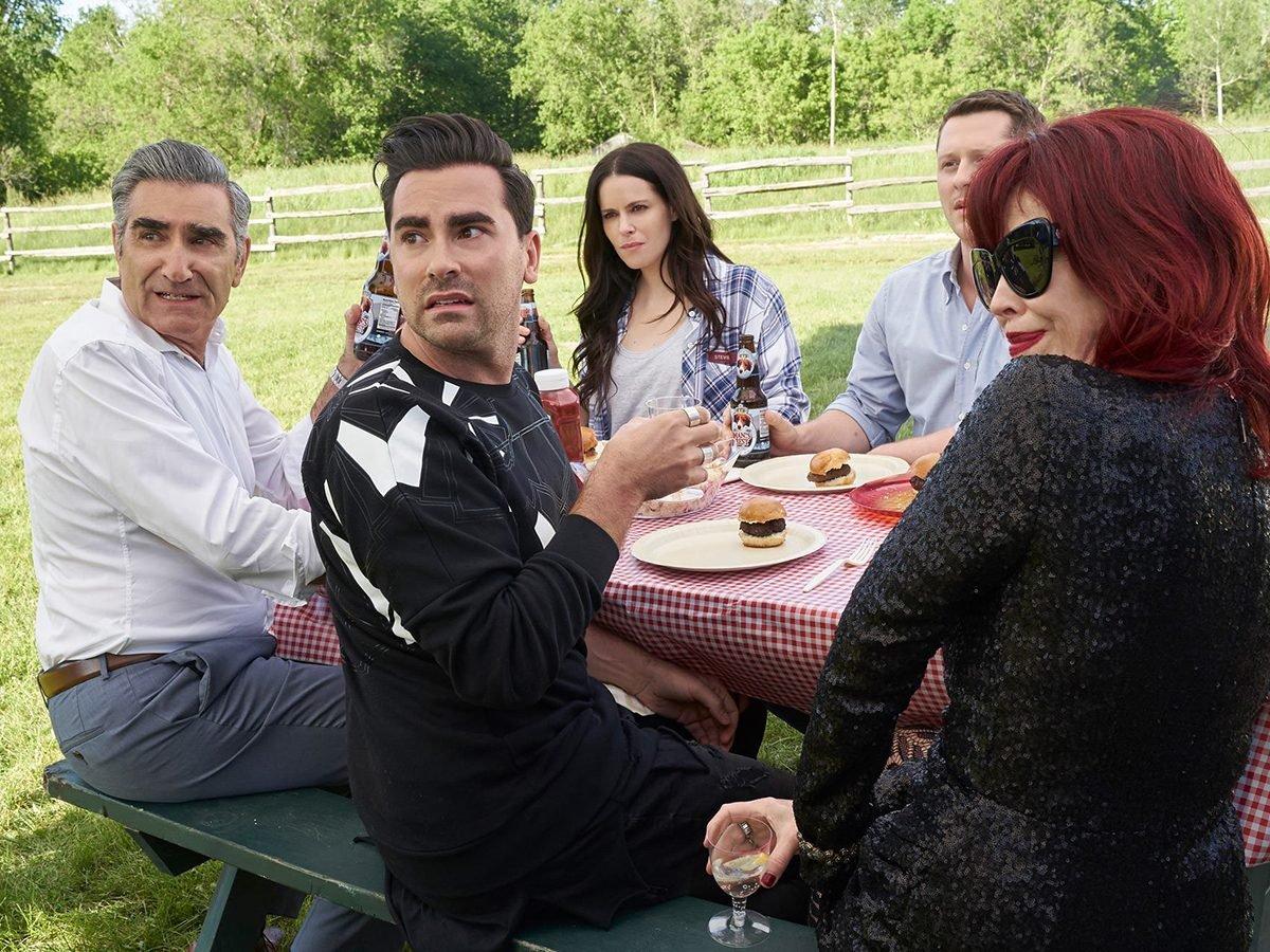 Funny Schitt's Creek quotes - Rose family picnic
