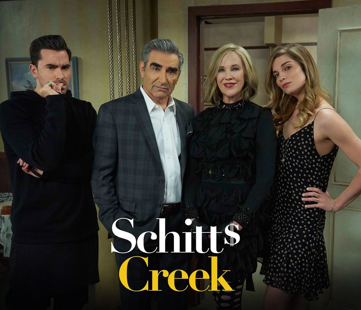 Rose family from Schitt's Creek