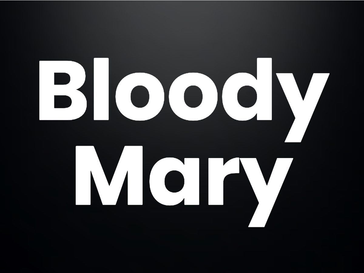 Trivia questions - Bloody Mary
