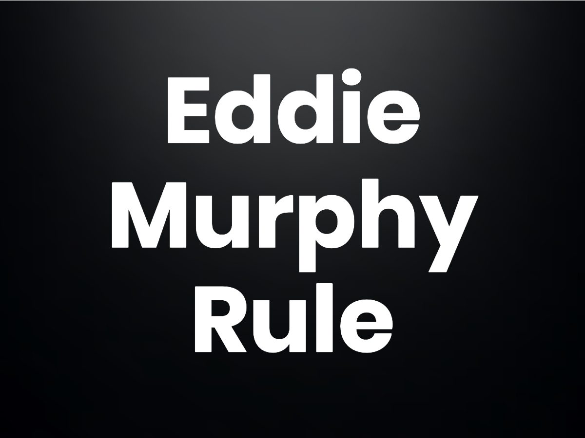 Trivia questions - The Eddie Murphy rule