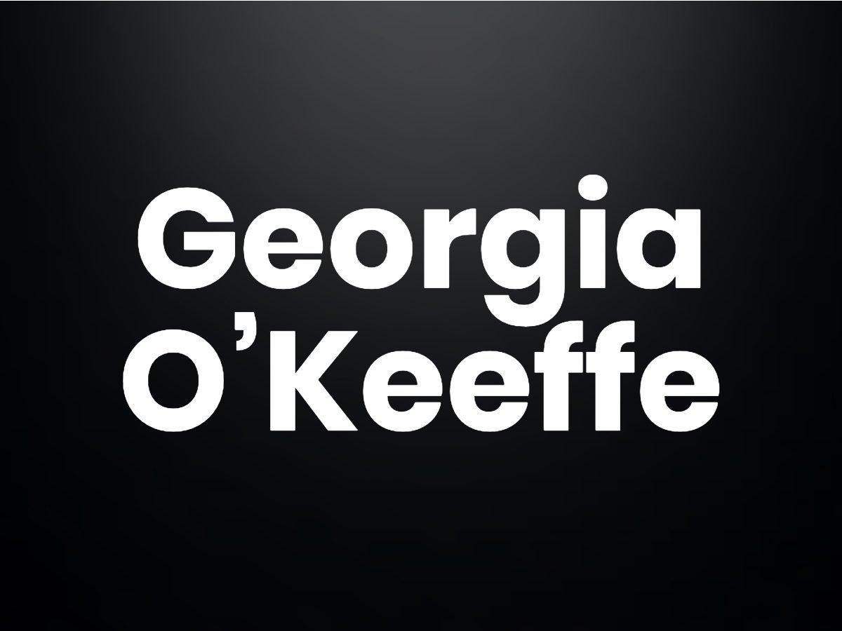 Trivia questions - Georgia O'Keeffe