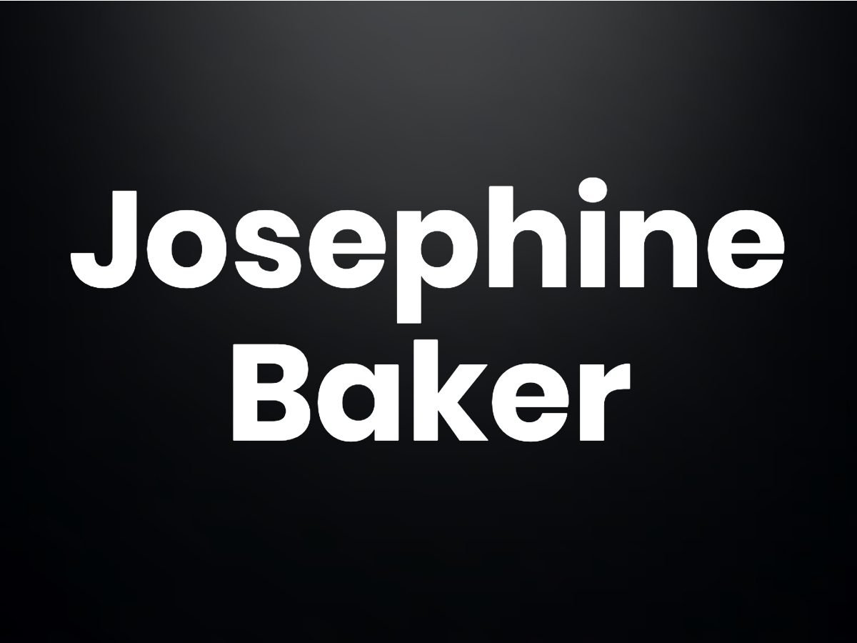Trivia questions - Josephine Baker