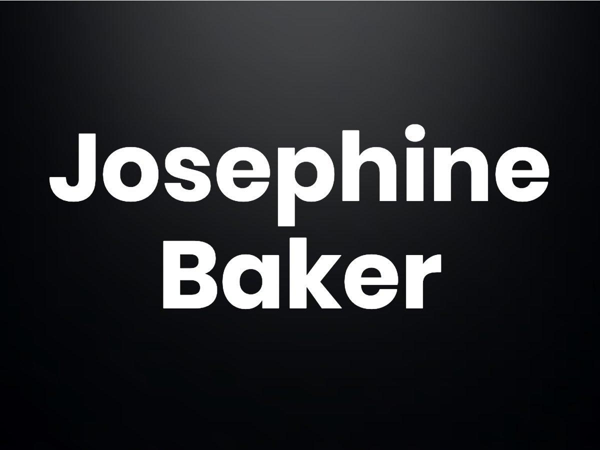 Trivia questions - Josephine Baker