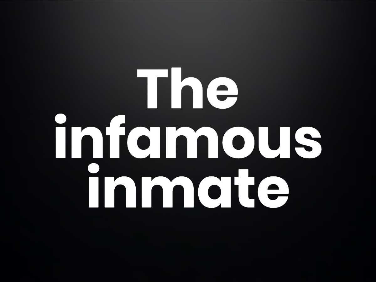 Trivia questions - The infamous inmate
