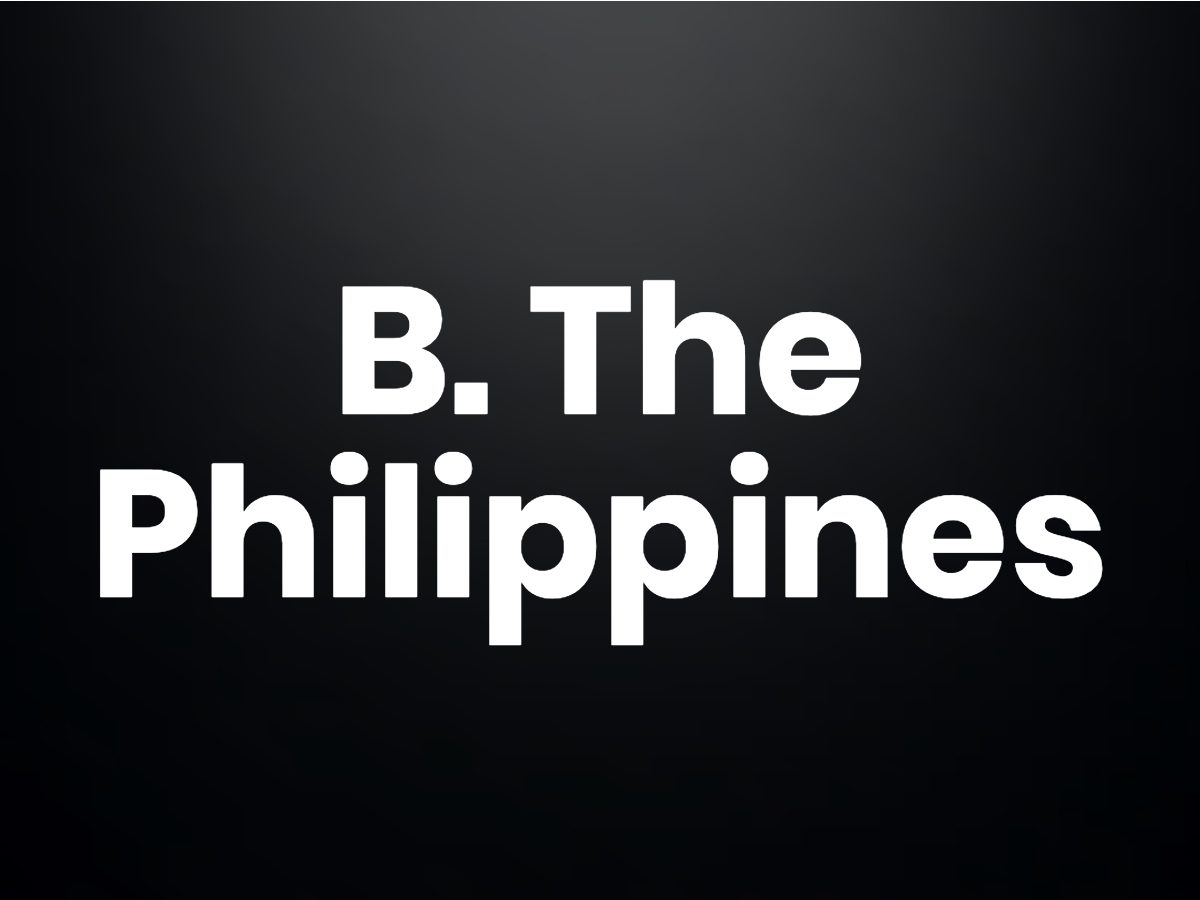 Trivia questions - the Philippines