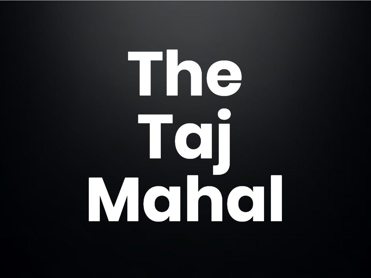 Trivia questions - The Taj Mahal