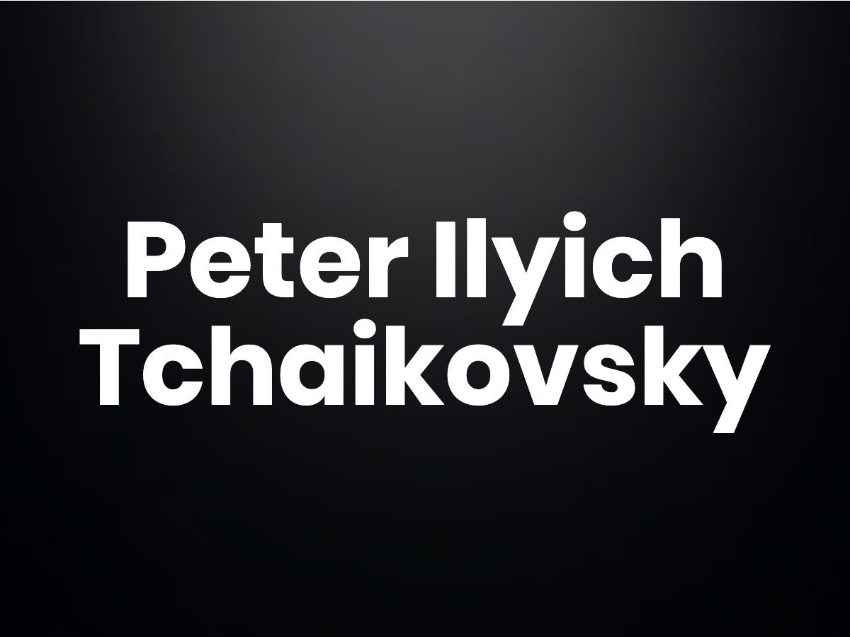 Trivia questions - Peter Ilyich Tchaikovsky