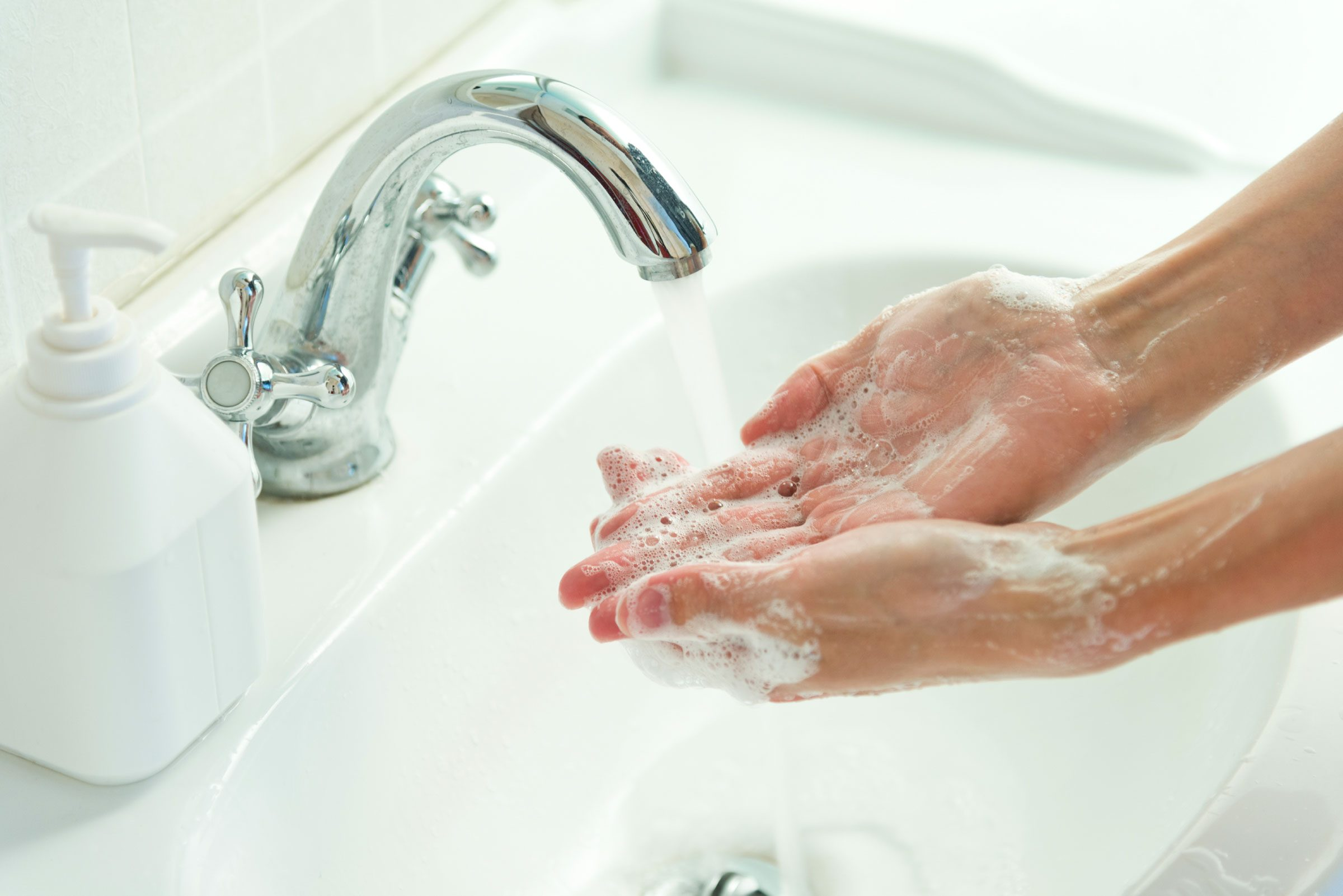 hand washing mistakes long enough