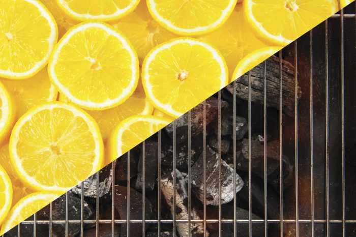 things to clean with lemons grill