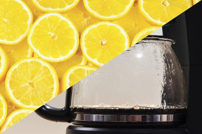 things to clean with lemons coffee pot