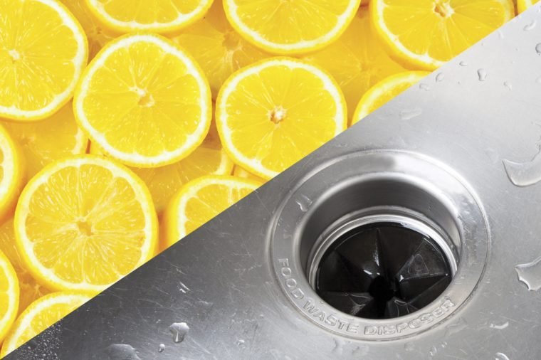 things to clean with lemons food waste disposer garbage disposal