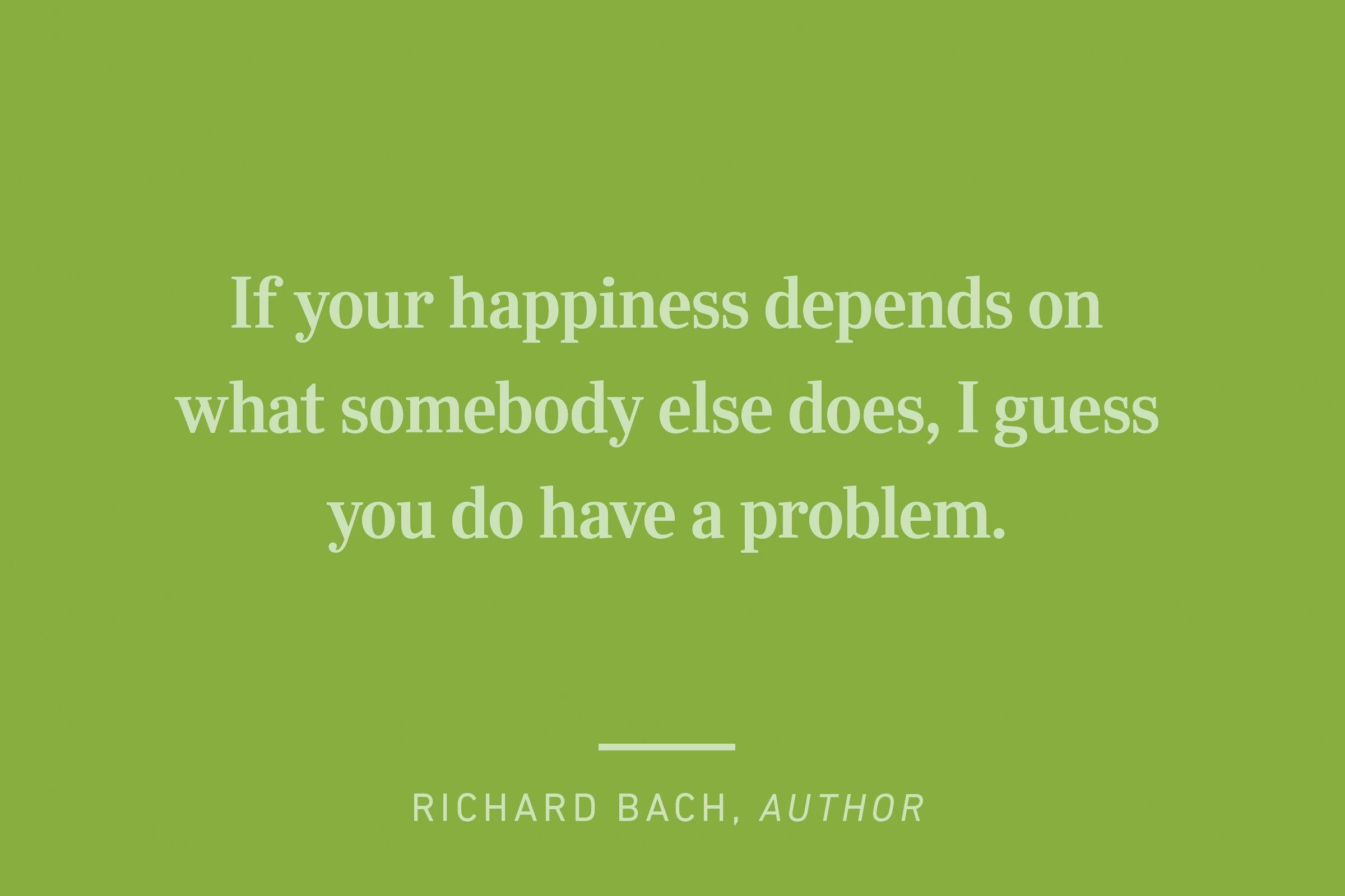 richard bach happiness quote