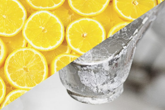 things to clean with lemons faucet