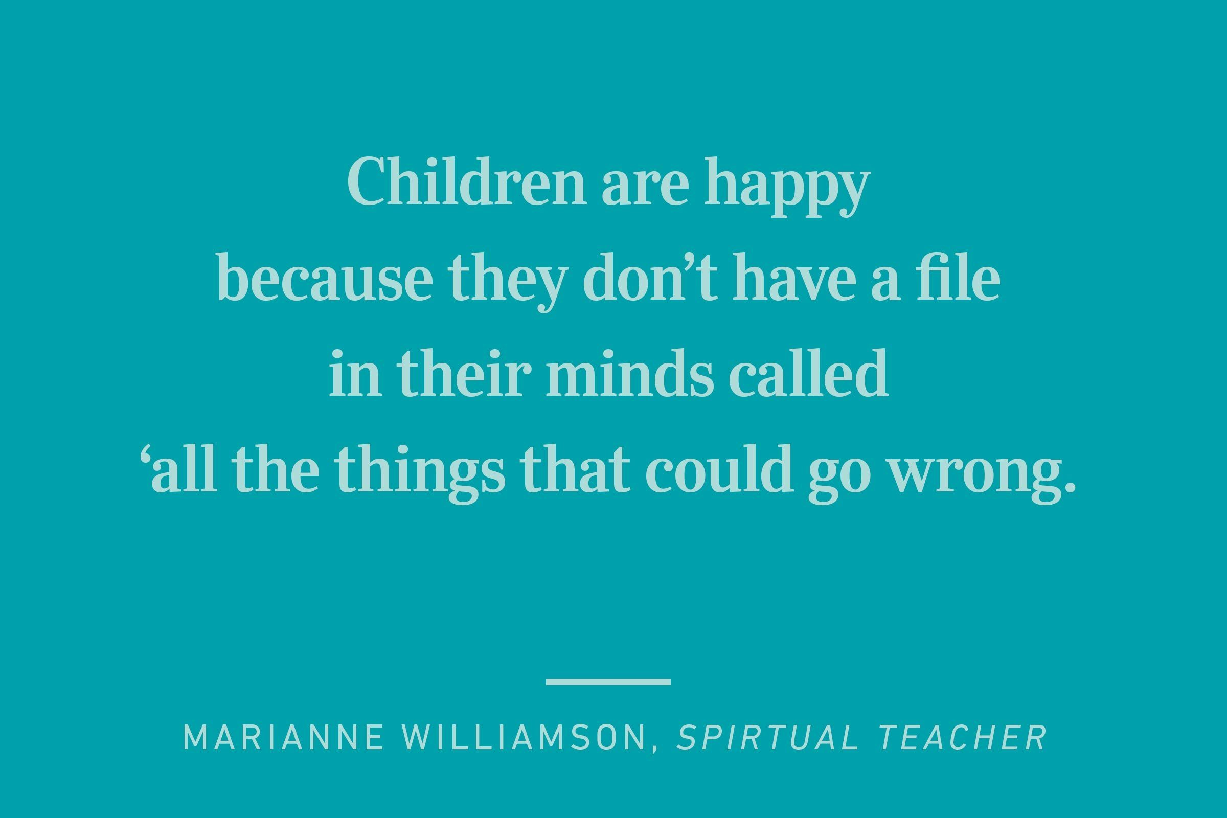 marianne williamson happiness quote