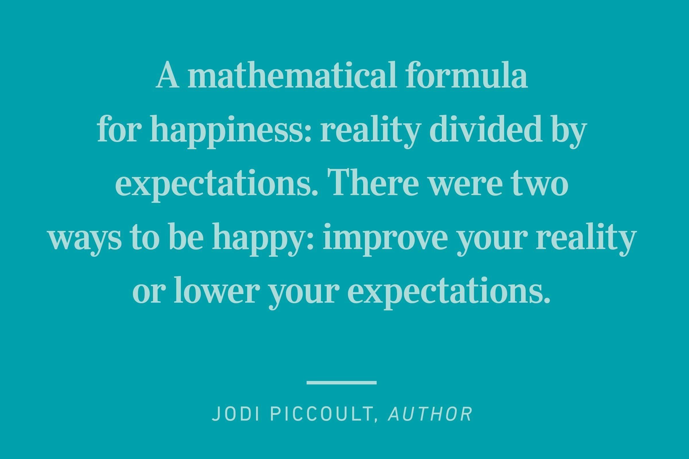 jodi piccoult happiness quote