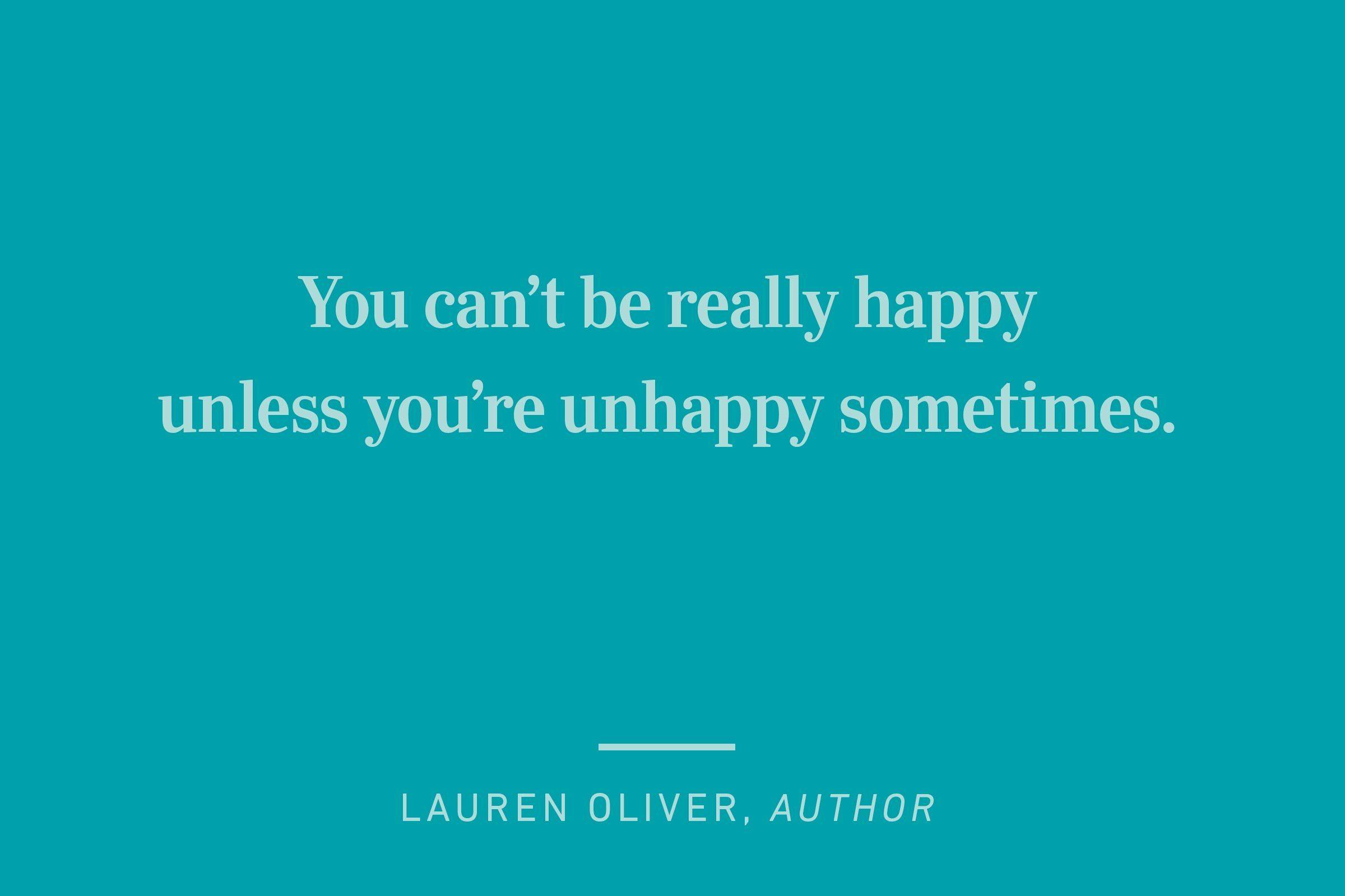 lauren oliver happiness quote