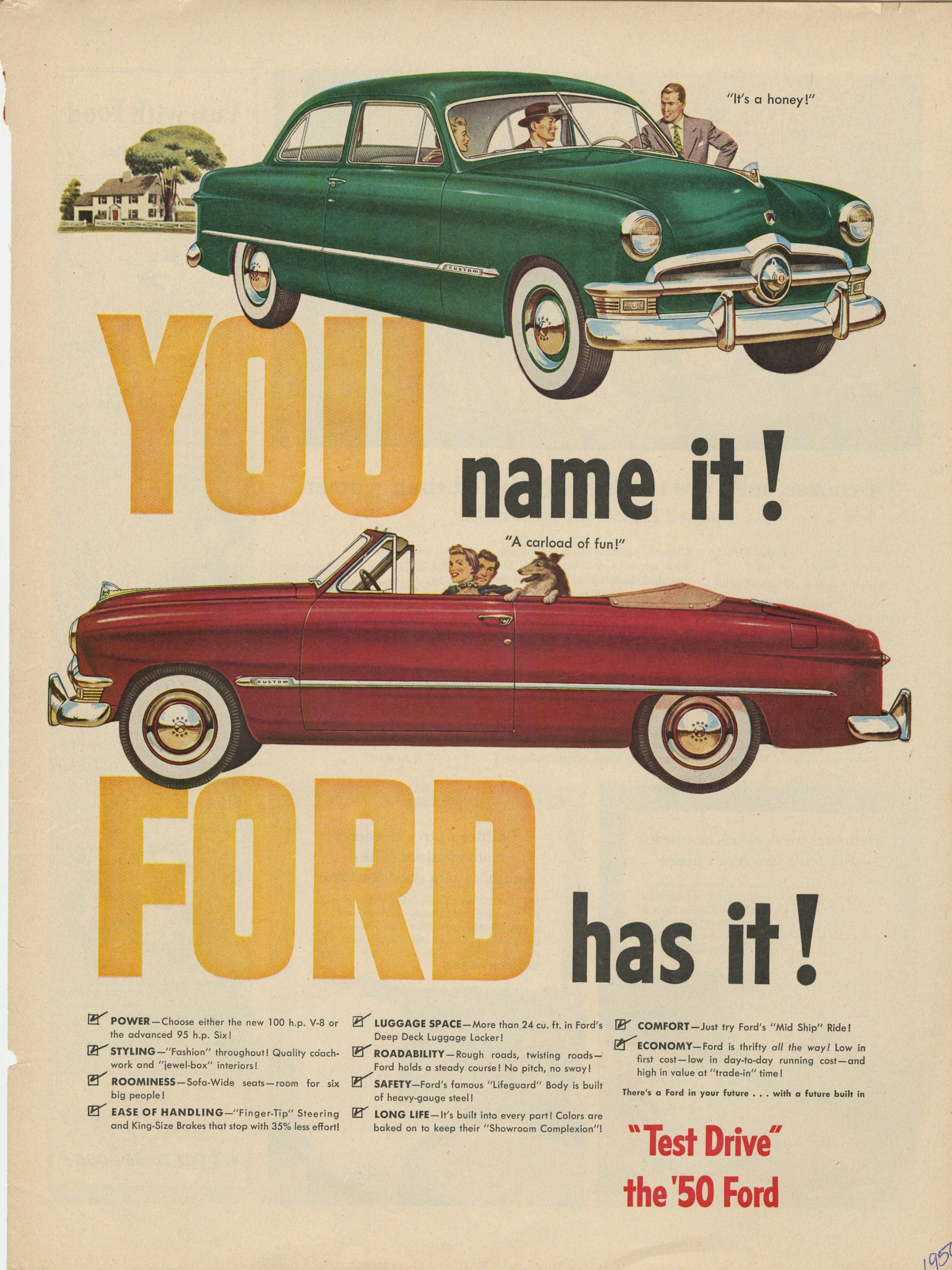 FordSunlinerConvertible