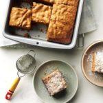 Hazelnut Cake Squares