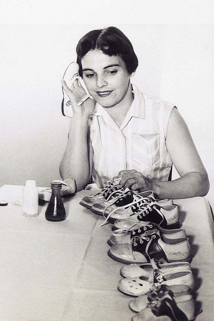 woman shoes vintage photo