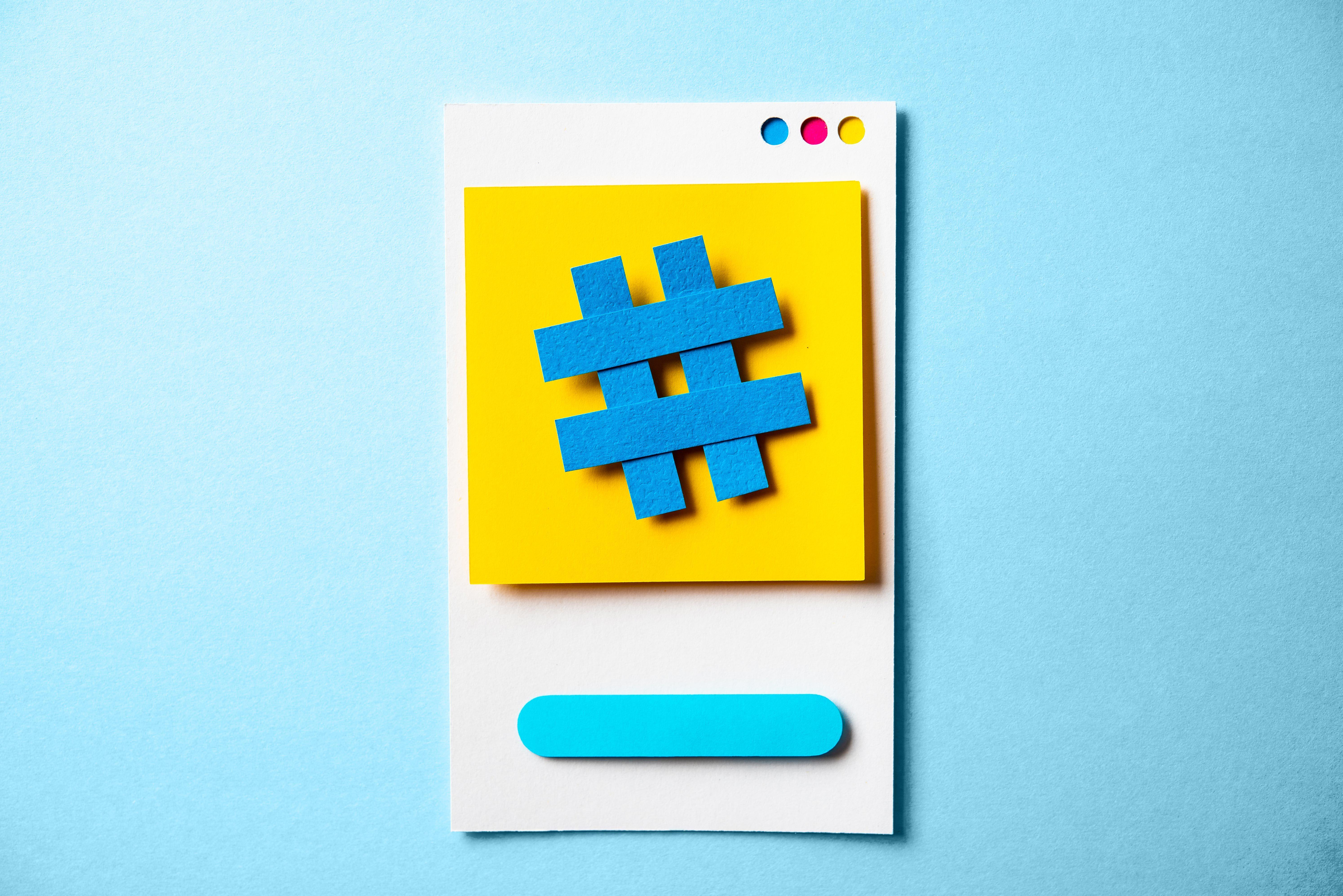 paper instagram interface model