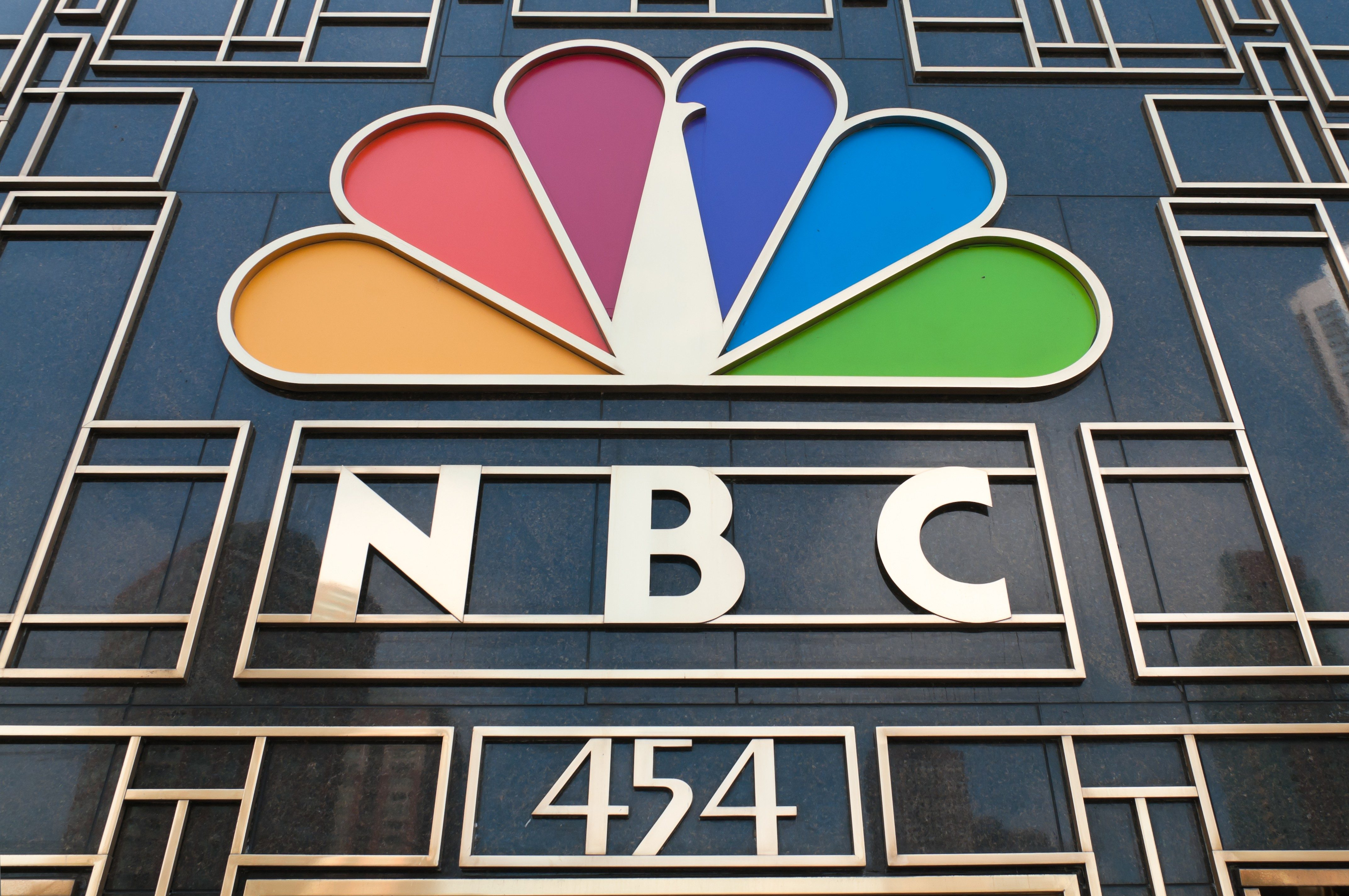NBC Tower Sign in Chicago