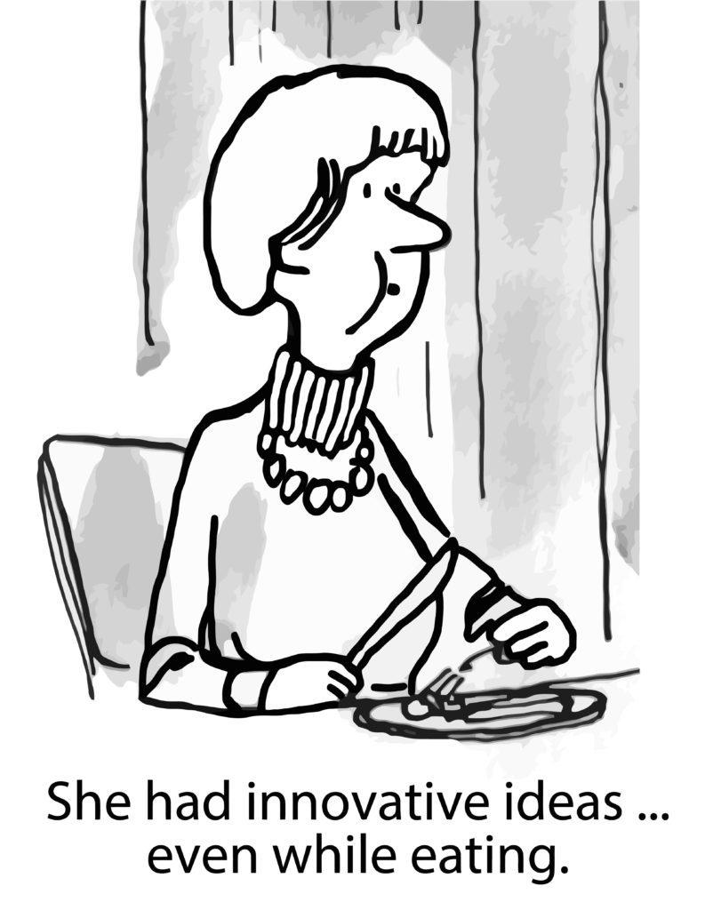 work from home cartoon
