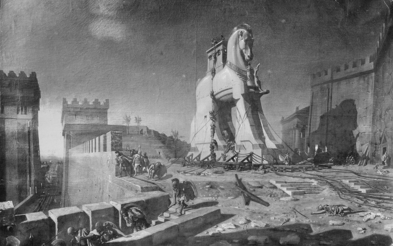 trojan horse Troy Turkey