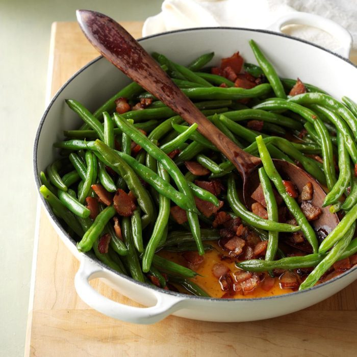 Old-fashioned green beans recipe