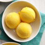 Quick Mango Sorbet