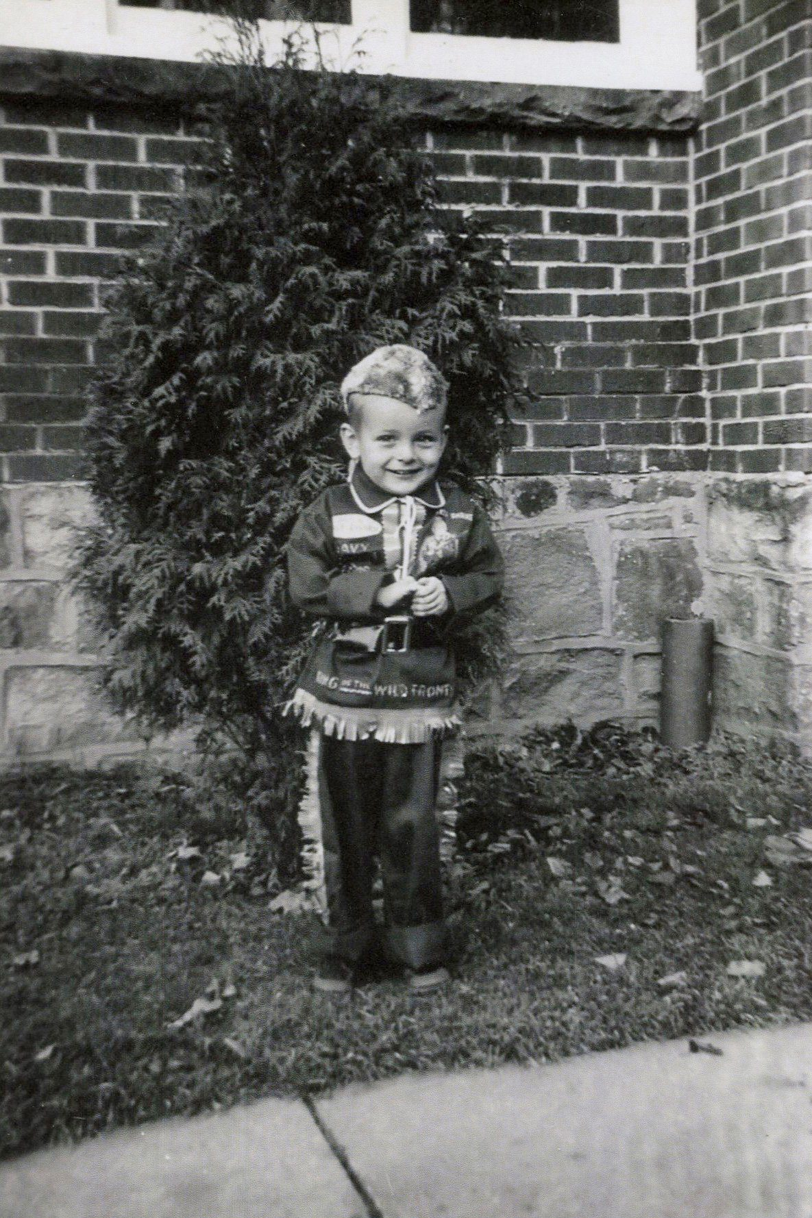 davey crockett vintage photo