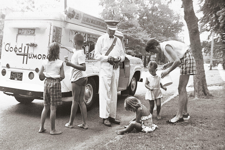 good humor man vintage photo