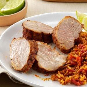 Southwest Pork Tenderloin